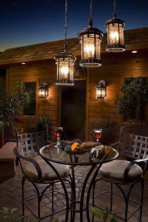 Patio Lighting Ideas For Your Summery Outdoor Space Outside Patio Lighting Ideas