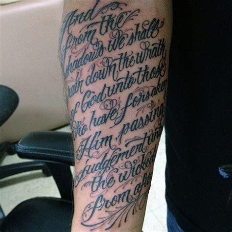 bible verse tattoo for men 50 bible verse tattoos for scripture design ideas