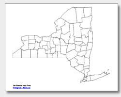 new york county free map free blank map free outline printable new york maps state outline county cities