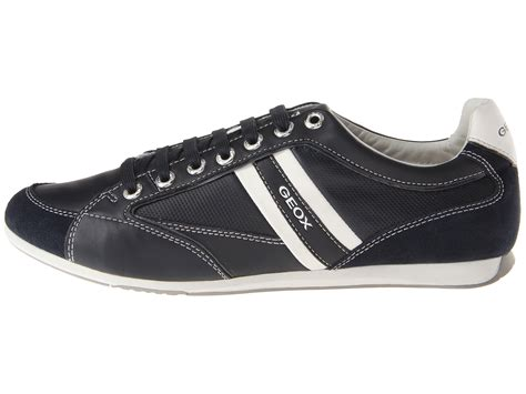 Sandal Slop Geox lyst geox kristof leather trainers in black for