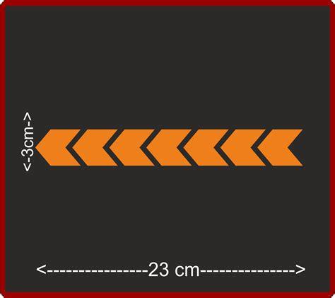Aufkleber Orange Fahrrad by Aufkleber Reflektierend Signalband Fahrradaufkleber