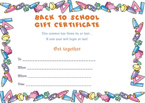 printable good helper award certificate childrens awards