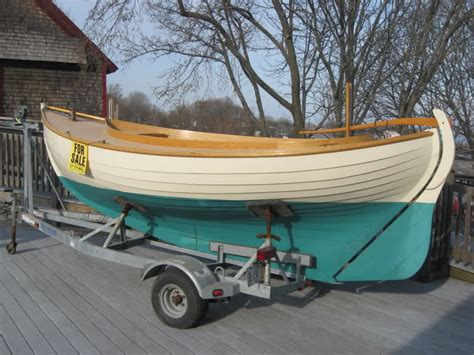 wooden dory boat for sale wooden dory for sale building a jon boat trailer