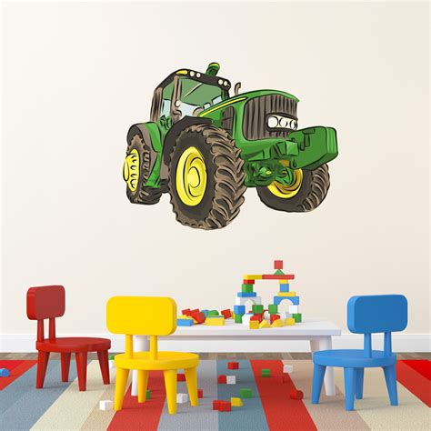 tractor wall stickers tractor printed wall decal