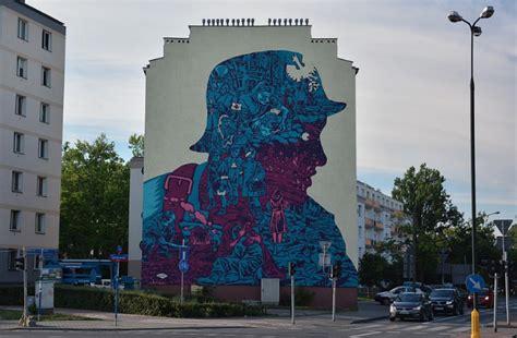 warszawie powstal mural upamietniajacy sierpien