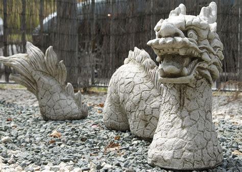 3 cast garden ornament garden
