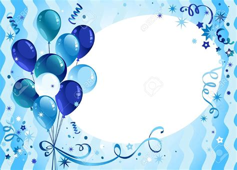 birthday blue background  boys  background check  happy