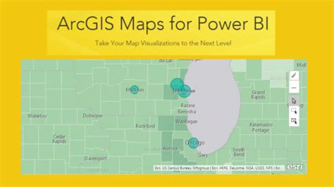 blank layout view arcgis using advanced mapping in arcgis preview power bi tips