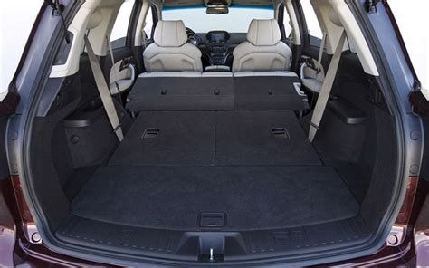 mdx cargo space ten suv cargo space autos post