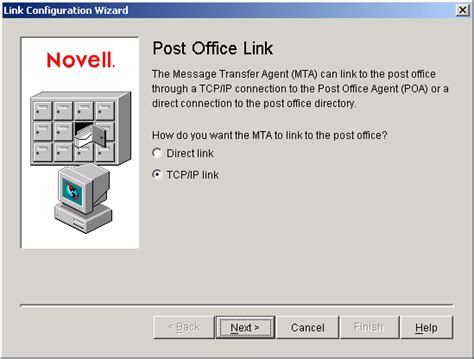 Post Office Definition by Novell Documentation Groupwise 6 5 Setting Up The New