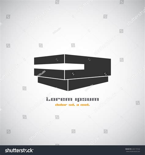 modern home design vector abstract building silhouette real estate house stock