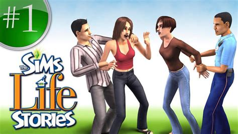 Sims R City Stories | the sims life stories part 1 riley harlow youtube