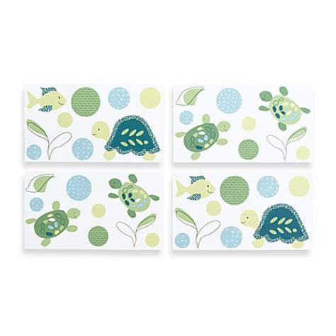 cocalo baby 174 turtle reef removable wall decals bed bath