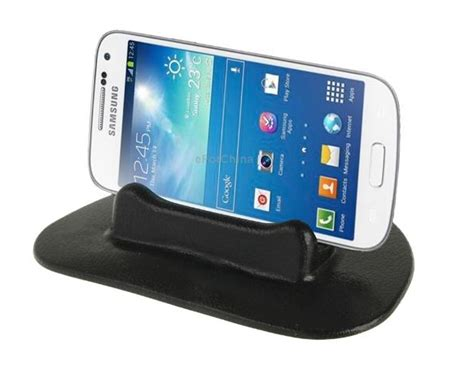 Car Dashboard Rubber Smart Stand Holder For Mobile Phon Promo car gps phone dash mount holder smart stand for psp gps