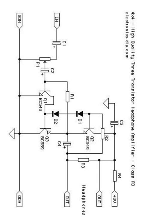 transistor headphone lifier schematic index of schematics lifiers and vcas