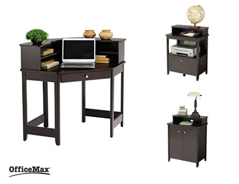 Corner Desk Office Max Corner Office Desk With Storage Images