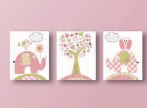 Elephant Nursery Wall Decor by Owl Nursery Elephant Nursery Wall Baby Nursery