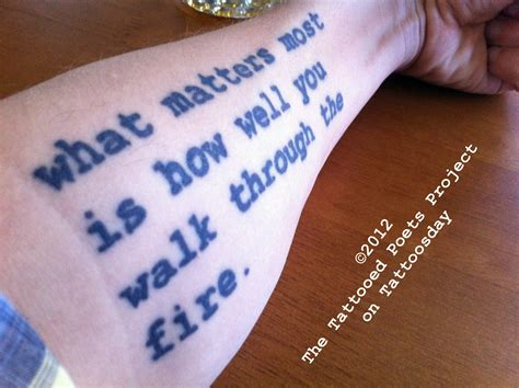 poem tattoos quotes and poems quotesgram