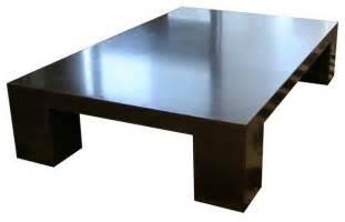 Large Modern Coffee Table De Wulf Block Coffee Table Large Modern