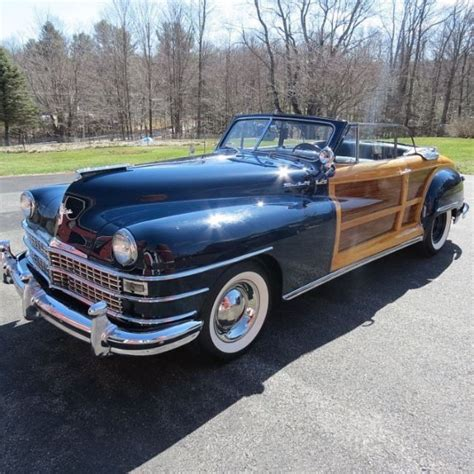 1948 Chrysler Town And Country by 1948 Chrysler Town And Country Woody Convertible