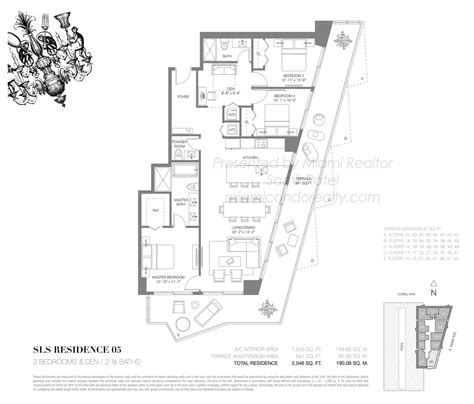 floor ls miami 28 images sls brickell residences