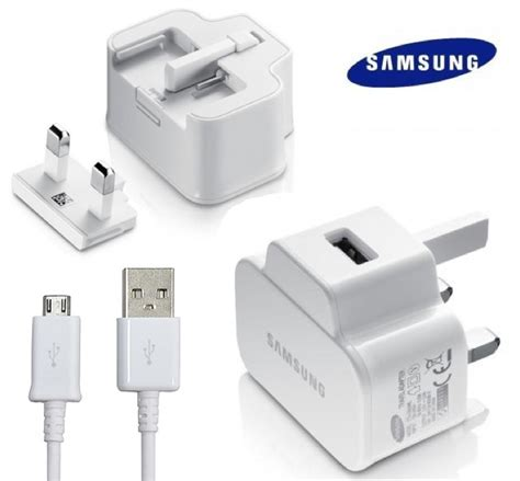 Fast Charger Samsung Galaxy Note 4 Tab 3 S4 Note 2 Original 100 genuine samsung galaxy tab 3 mains charger eta u90uwe