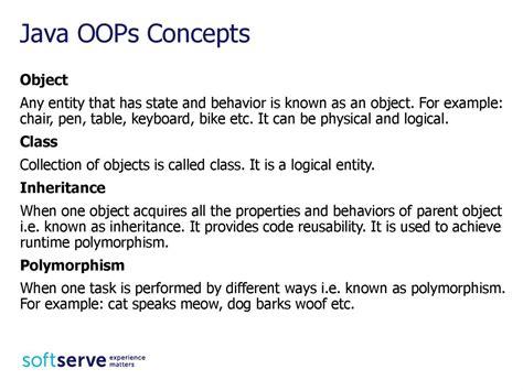 java tutorial oops concepts java inheritance презентация онлайн