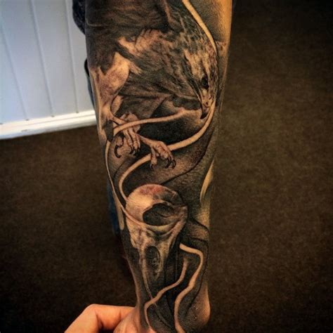 shaded sleeve tattoos for men 100 hawk designs for masculine bird ink ideas