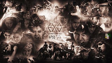 exo wallpaper hd 2014 korean idol wallpaper korean idol wallpaper exo wolf