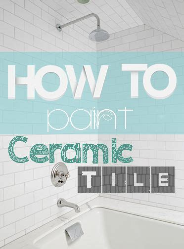 how do you paint tiles in the bathroom best 20 paint ceramic tiles ideas on pinterest