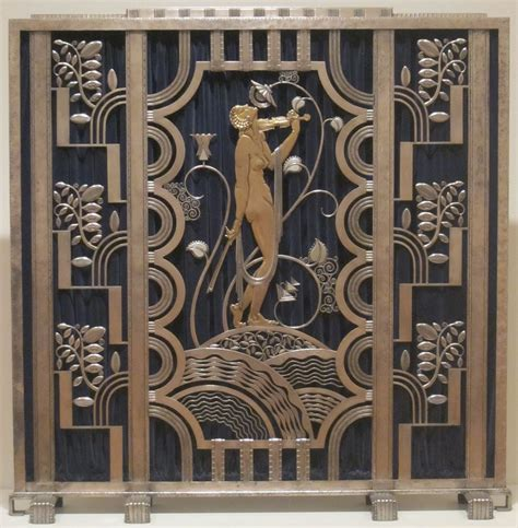Arts And Crafts Homes Interiors File Fire Screen Made By Rose Iron Works Of Cleveland