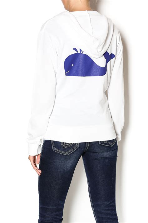 Jaket Macbeth 10 macbeth collection white whaley hoodie from florida by