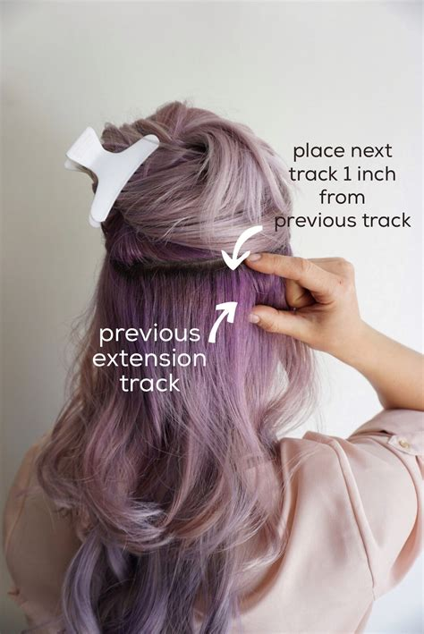 Hairstyles With Clip In Hair Extensions by Tips For Applying Clip In Hair Extensions