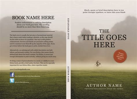 Createspace And Kindle Covers Made Easy Cover Design Studio Microsoft Publisher Book Cover Template