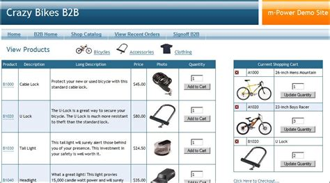 creating a shopping cart exle using web 2 0 templates