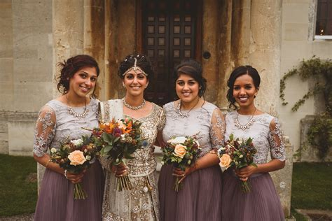 An Autumnal Anglo Indian Fusion Wedding in the Cotswolds