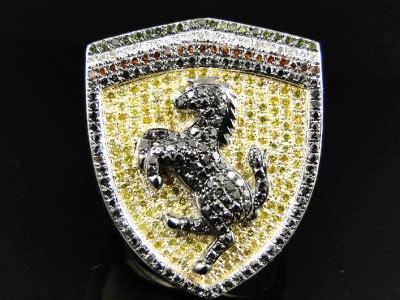 golden ferrari with diamonds gallery for gt white gold ferrari