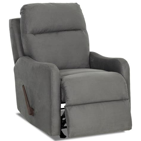reclining swivel rocking chair casual swivel rocking reclining chair by klaussner wolf