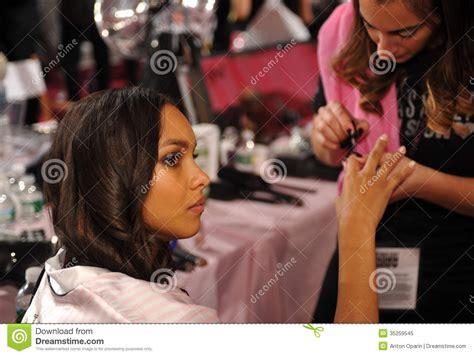 hair shows in new york 2013 new york ny november 13 model jasmine tookes during