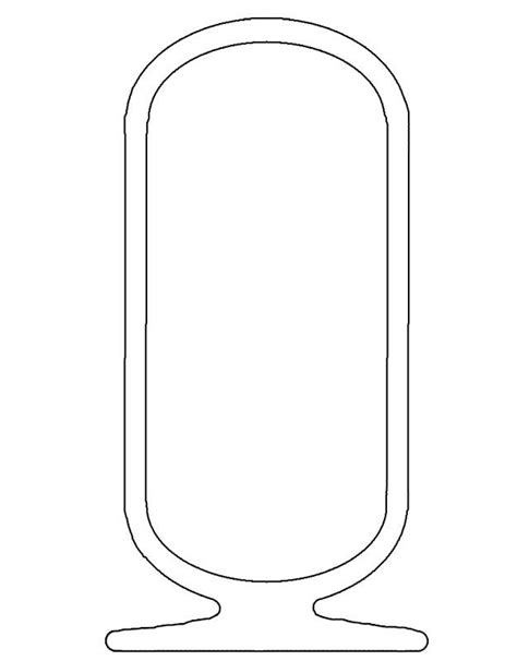 cartouche template shenu more commonly as a cartouche the shape