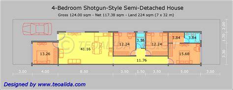 layout of shotgun house floor plan of a shotgun house