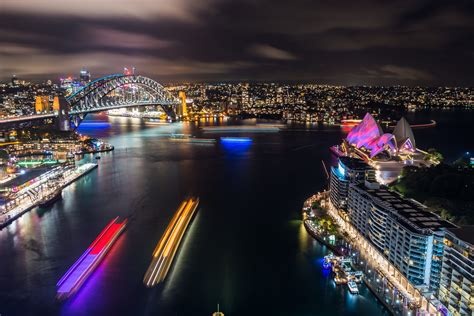 photos sydney s stunning vivid festival lights up the
