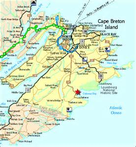 cape breton canada map cape breton estates details for seaside in glorious