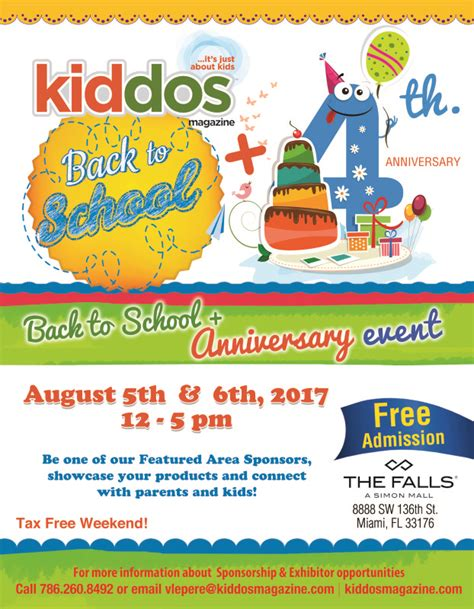Taking The Kiddos To School by Kiddos Magazine 2017 Back To School Event