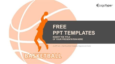 Red Basketball Player Powerpoint Templates Basketball Powerpoint Presentation