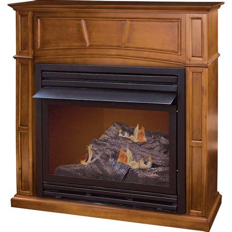 pleasant hearth dual fuel vent free fireplace 32 000 btu