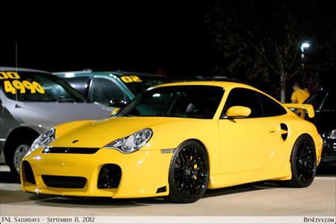 Porsche 911 Turbo Gelb by Yellow Porsche 911 Turbo Benlevy