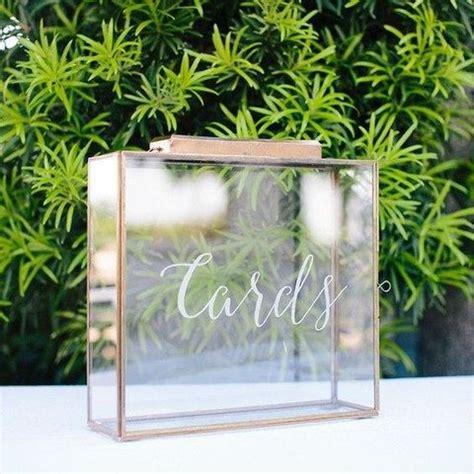 Wedding Card Glass Box by 20 Modern Wedding Card Boxes You Ll Like Happywedd