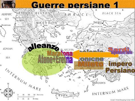 guerre greco persiane storia 1liceo grecia