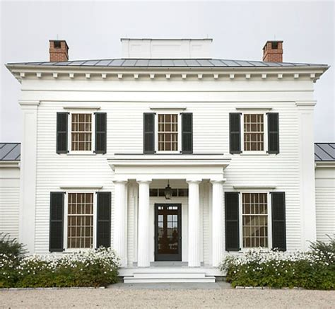 white house with black trim stylish home black and white house exteriors